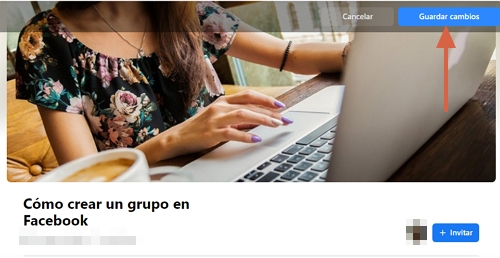 Cómo crear un grupo en Facebook desde su página web paso 6