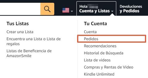 Cómo devolver un producto o pedido en Amazon paso 4