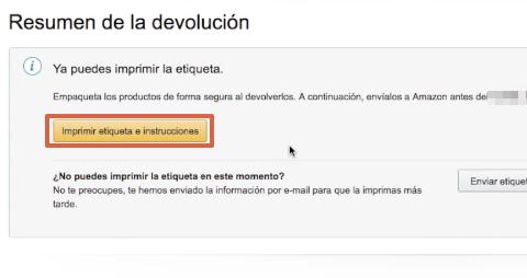 Cómo devolver un producto o pedido en Amazon paso 9