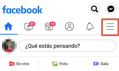 Cómo eliminar a alguien de tu lista de amigos de Facebook desde el celular paso 2