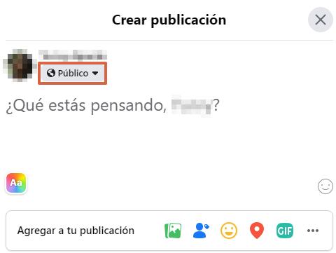 Cómo publicar estados en Facebook desde su portal web paso 2