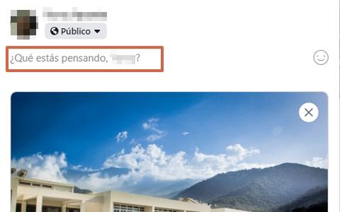 Cómo publicar fotos, imágenes o videos en Facebook desde su portal web paso 4