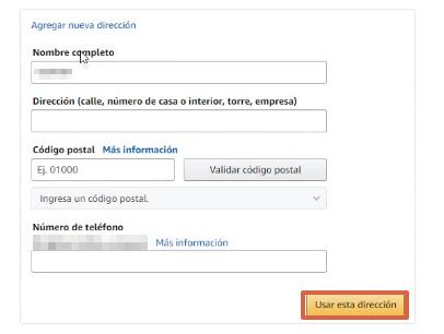 Cómo suscribirte a Amazon Prime gratis paso 5