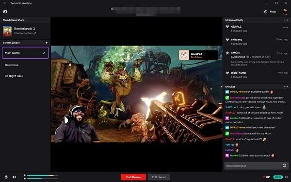 Cómo tranmitir o stremear en Twitch desde la PC