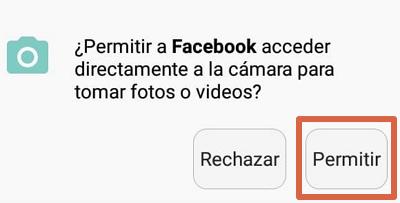 Cómo usar un GIF como imagen de perfil en Facebook paso 4