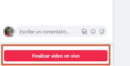 Cómo utilizar Facebook Live desde el ordenador paso 7
