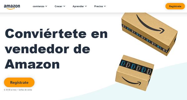 Convertirte en un vendedor de Amazon para ganar dinero en la plataforma
