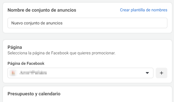 Creación de anuncios en Facebook