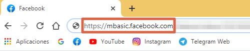 Descargar videos de Facebook desde PC usando mbasic paso 3