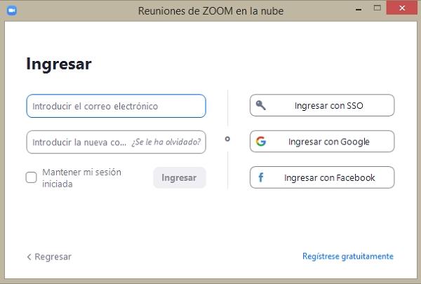 Principales funciones de Zoom