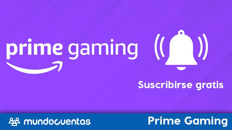 Twitch Prime gratis cómo suscribrite gratis a un canal con Prime Gaming