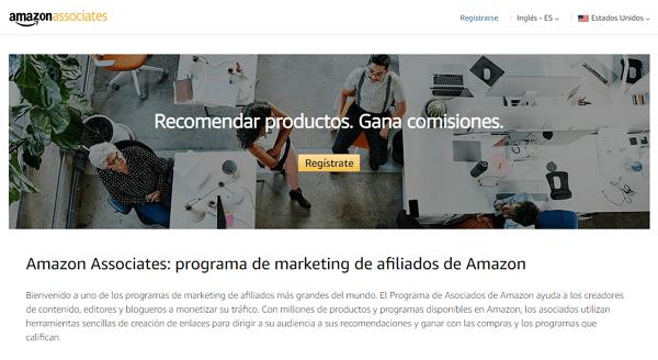 Utilizar el Programa de Afiliados de Amazon para ganar dinero en la plataforma