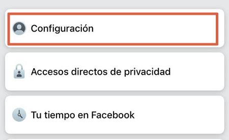 como bloquear a alguien en facebook desde la App paso 3