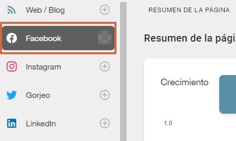 como programar y administrar publicaciones en facebook con metricool paso 3