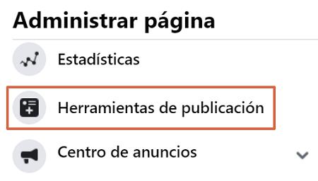 como programar y administrar publicaciones en facebook paso 3