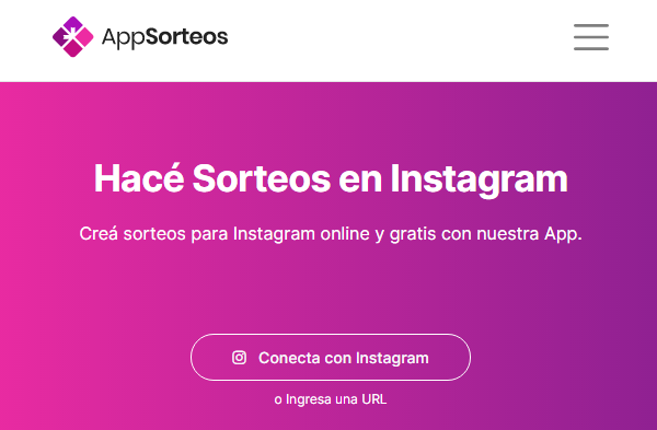 AppSorteos para escoger al ganador de un sorteo en Instagram