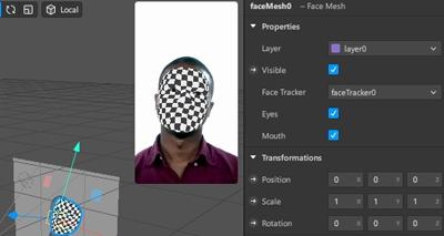 Cómo crear o hacer tus propios filtros de Instagram usando Spark AR Studio paso 9