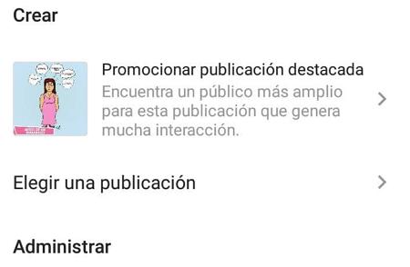 Cómo crear un anuncio en Instagram desde la app paso 3