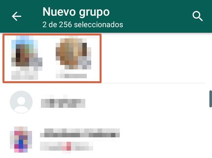 Cómo crear un grupo de WhatsApp desde un Android paso 3