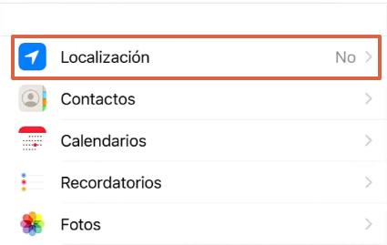 Cómo enviar la ubicación exacta por WhatsApp desde un iOS paso 3
