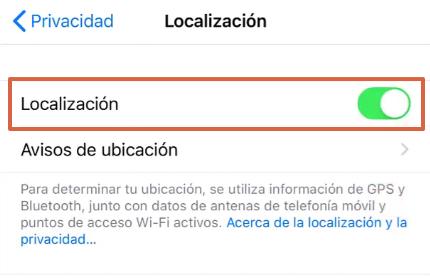 Cómo enviar la ubicación exacta por WhatsApp desde un iOS paso 4