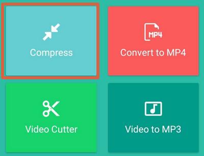 Cómo enviar videos largos o pesados por WhatsApp sin que se corten usando Video Compressor paso 2