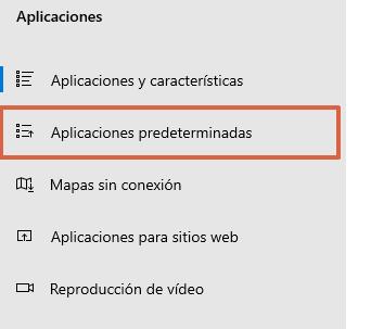 Cómo establecer un navegador predeterminado desde una computadora con Windows 10 paso 3