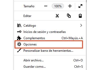 Cómo poner o establecer a Google como tu buscador predeterminado desde Firefox paso 2