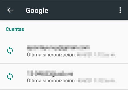 Cómo quitar una cuenta de Google de tu móvil Android paso 4