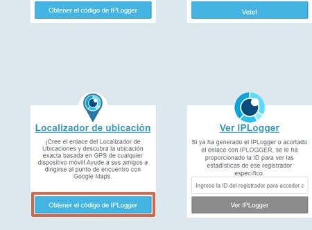 Cómo rastrear en WhatsApp utilizando IPLogger paso 2