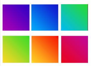 Degradados no admitidos por Instagram para usar en iconos de filtros creados con Spark AR Studio