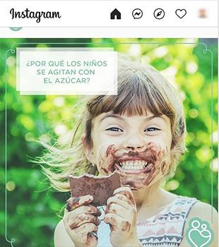 Ejemplo de imágenes en Instagram