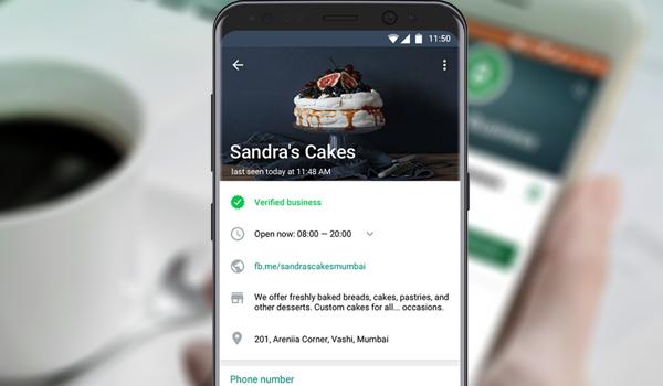 Perfil empresarial en WhatsApp Business