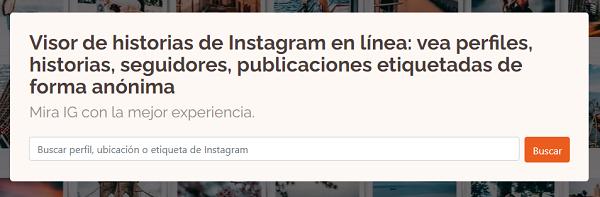 Ver historias de Instagram sin que nadie lo sepa utilizando una página web SmilHub