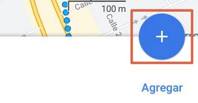 Cómo añadir puntos en la ruta de Google Maps desde el móvil para calcular la distancia