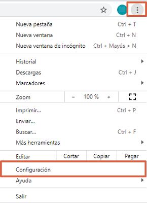 Cómo cambiar el idioma de Google Chrome desde las configuraciones avanzadas paso 1
