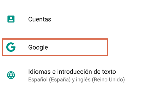 Cómo cambiar el idioma de Google Chrome desde un dispositivo Android paso 2