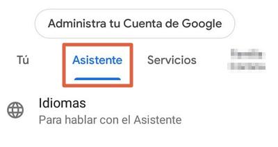 Cómo desactivar el Asistente de Google paso 2