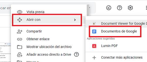 Cómo desbloquear un archivo PDF utilizando Google Drive. Paso 4