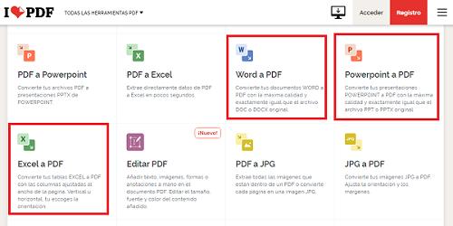 Cómo desbloquear un archivo PDF utilizando I love PDF. Paso 2