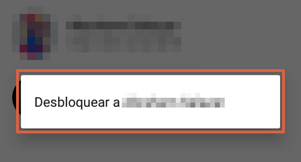 Cómo desbloquear un contacto en WhatsApp desde un Android paso 6