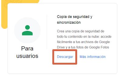Cómo descargar Google Drive para PC paso 1