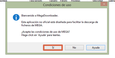 Cómo eliminar el límite de descarga en MEGA y bajar todo el contenido que quieras usando Megadownloader paso 2