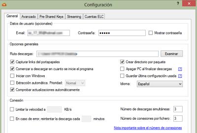Cómo eliminar el límite de descarga en MEGA y bajar todo el contenido que quieras usando Megadownloader paso 3