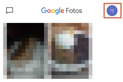 Cómo hacer una copia de seguridad en Google Fotos desde la app paso 1