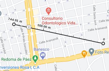 Cómo medir la distancia entre dos puntos en Google Maps desde la PC paso 4