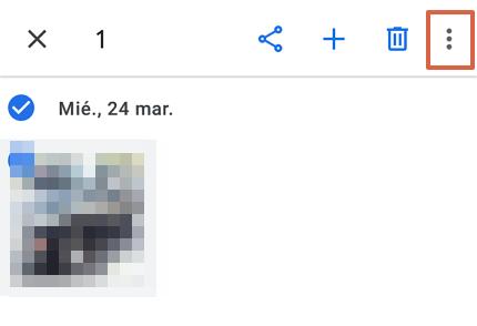 Cómo recuperar fotos y videos borrados de Google Fotos desde el archivo de la aplicación paso 3