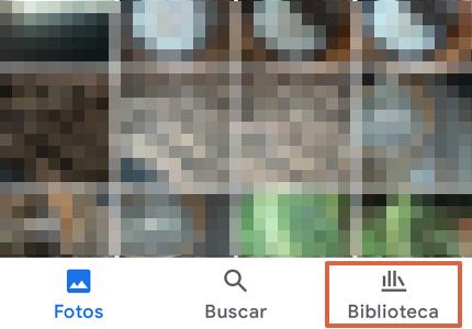 Cómo recuperar fotos y videos borrados de Google Fotos desde la app paso 1