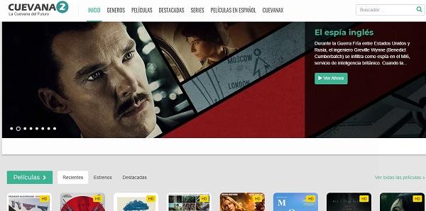 Cuevana2.io como página alternativa a Series Papaya