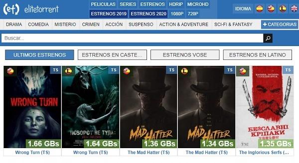 EliteTorrent como página alternativa a Series Papaya